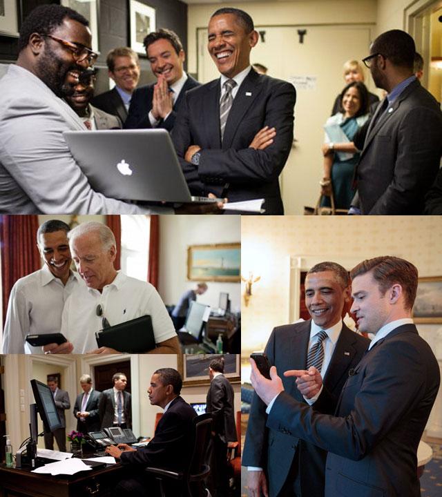 All images via obamaischeckingyouremail.tumblr.com