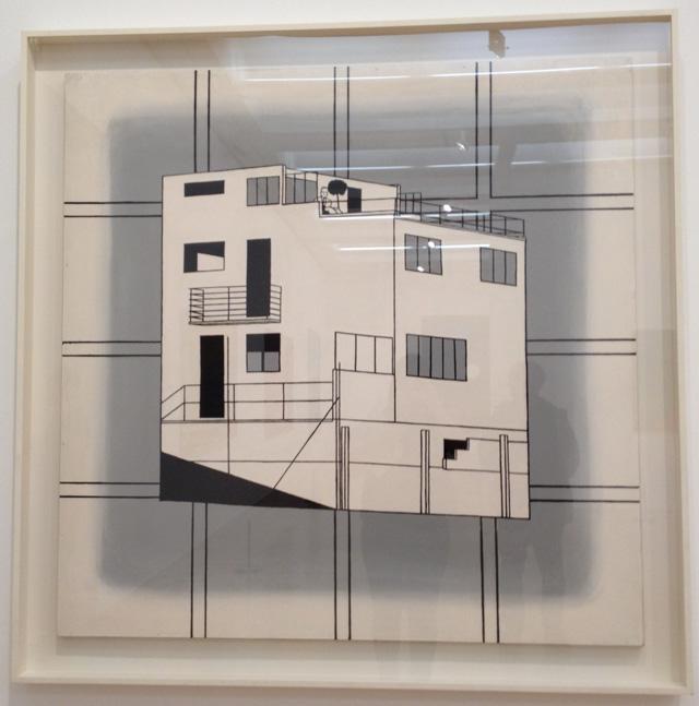 "Patrick Caulfield, ""Concrete Villa, Bruun"" (1963)"