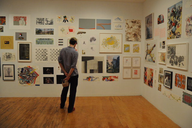 Works by Jim Torok, Susan Hamburger, (all photos by the author for Hyperallergic)