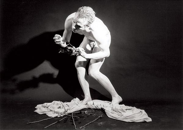 "Carl George, ""6 Feet, Dancers That I Know and Love"" (still) (1991), 16mm, 23 min"