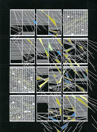 """Shanti Grumbine, """"In Formation Drawing #4"""" (2013) (click to enlarge)"""