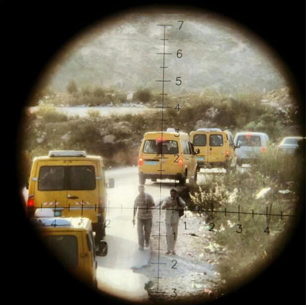 An Instagram photo posted by Israeli soldier Eliya Hatan (via electronicintifada.net)