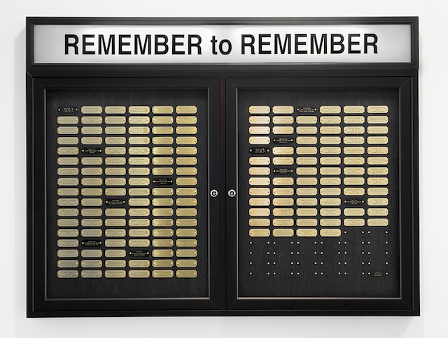 """Cheryl Pope, """"Remember to Remember"""" (2013)"""