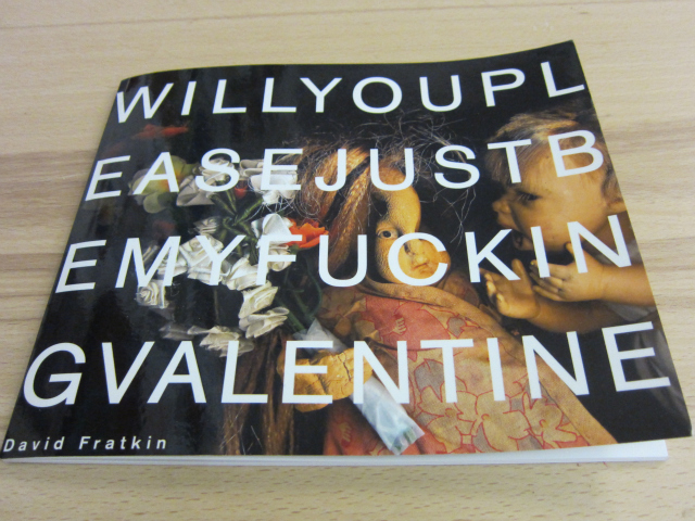 Will You Please Just Be My Fucking Valentine by David Fratkin