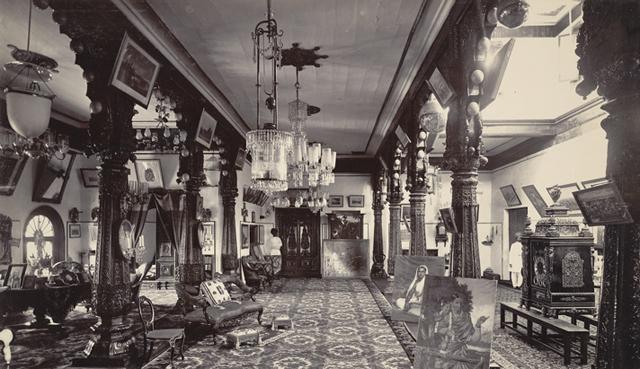 Karikal Thotti, Mysore Palace (1890s) (via merepix.com)