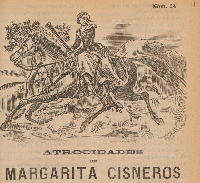Atrocidades de Margarita Cisneros