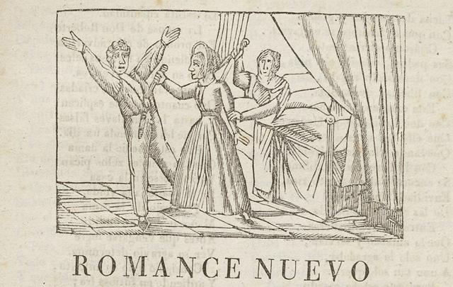 Romance nuevo é historia tragica y verdadera de doña Angela de Valladares y Carrascosa