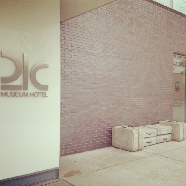 The 21c Museum Hotel in Bentonville