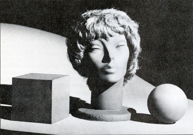 """Original photograph from 1980 photography handbook, """"How to Control and Use Photographic Lighting"""" (image via the Museum of Contemporary Art's Media Department)"""