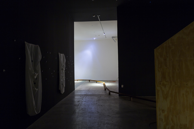 Installation view. Enrique Martínez Celaya: The Pearl. SITE Santa Fe. July-October 2013. (photograph by Eric Swanson)