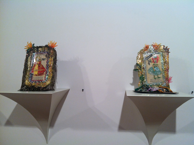 "Thomas Lanigan-Schmidt, two ""Twinky as..."" self-portraits (1967–69)"