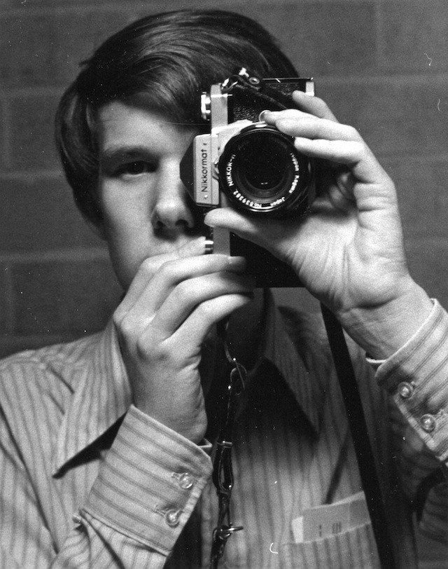 Rick Smith, 1970 vintage selfie