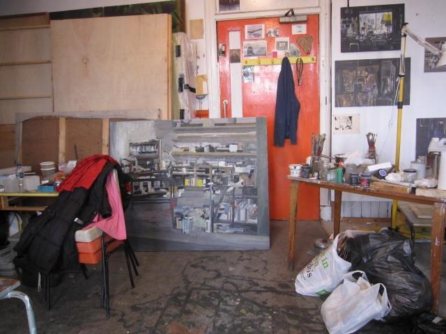 Walker's painting of opera workshops