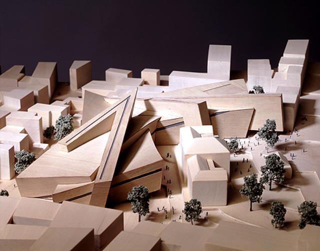 Acropolis Museum design by Daniel Libeskind (via Wikimedia)