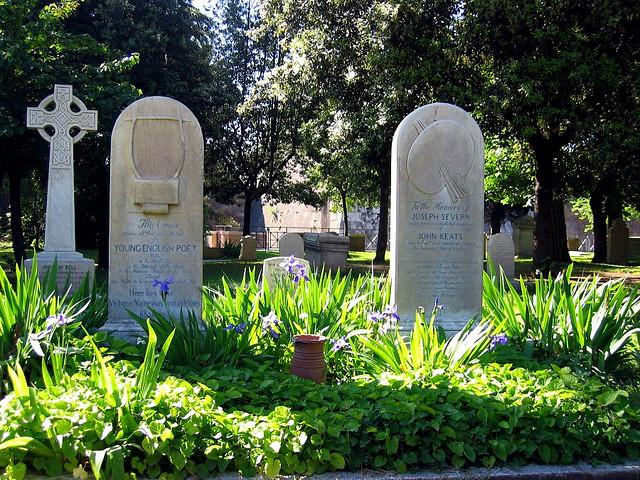 Grave of Joseph Severn