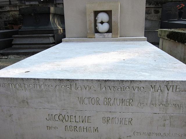 Grave of Victor Brauner