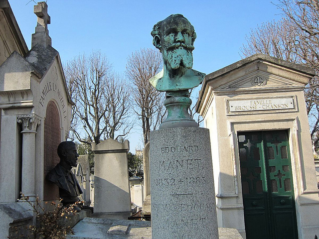 Grave of Manet