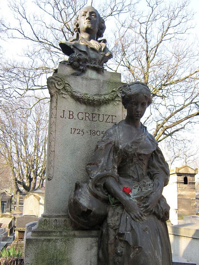 Grave of Jean-Baptiste Greuze