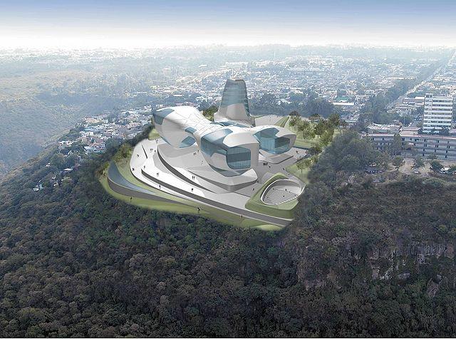 Guggenheim Guadalajara (via Wikimedia)
