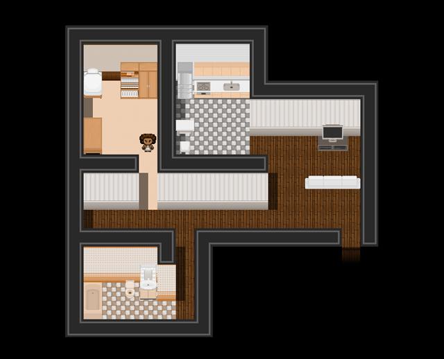 """Screenshot of """"Mainichi"""" (2012) by Mattie Brice (via mattiebrice.com)"""