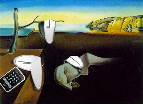 "Dali's ""Persistence of Memory"" …"