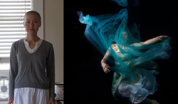 Izumi, one of Erena Shimoda's clients in the Underwater Healer project. All images courtesy Erena Shimoda.