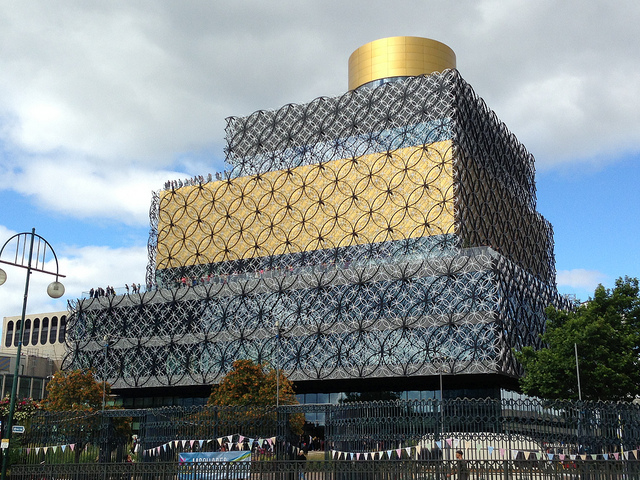 The new Library of Birmingham opened this week, and its (image via Greg Robson's Flickrstream)