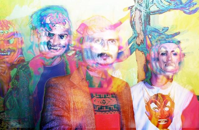 Arrington de Dionyso, Nehemiah St-Danger & Jake Jones of Arrington de Dionyso's Malaikat dan Singa (all images courtesy of the artist)
