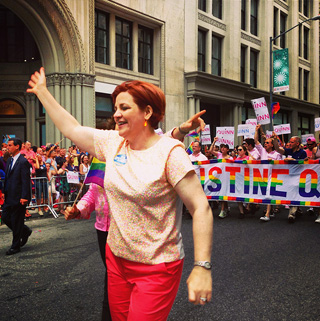 Christine Quinn (photo by Flickr user Boss Tweed)