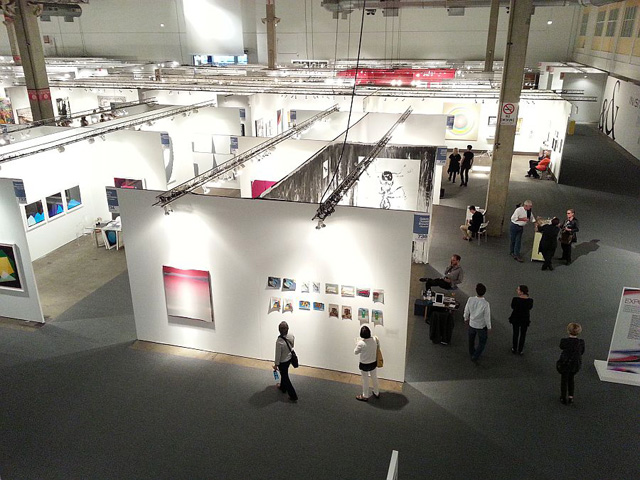 A view of Expo Chicago (all images by the author for Hyperallergic)