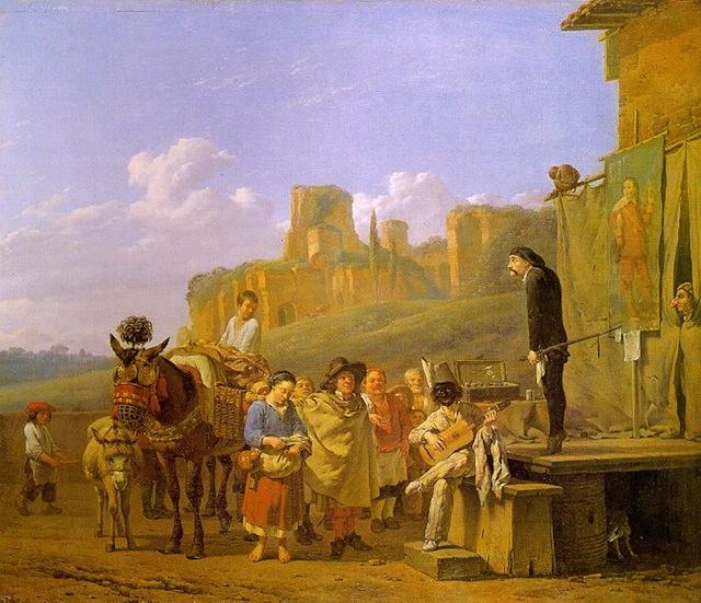http://en.wikipedia.org/wiki/Commedia_dell'arte