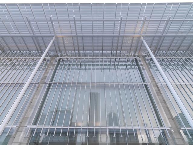 Photo of the Art Institute's Modern Wing Facade (Dave Jordano/Art Institute of Chicago)