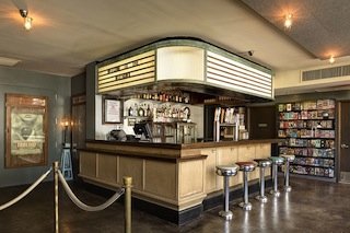 Nighthawk Cineam lobby and bar (Image via Caliper Studio)