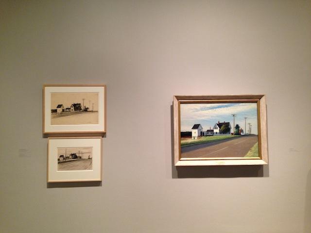 "Edward Hopper, ""Route 6 Eastham"""