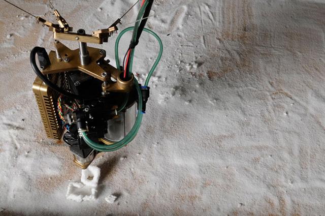 Jonathan Schipper, salt sculpture (via pierogi2000.com)