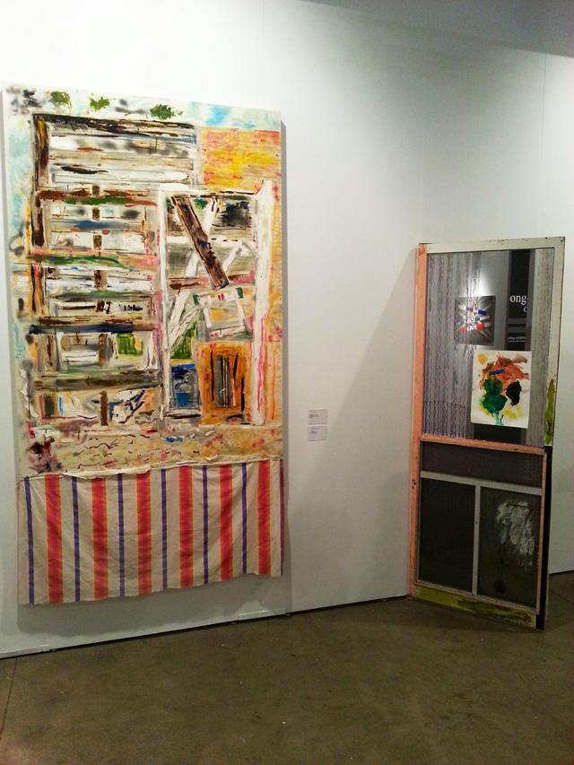 Tameka Norris' installation at Lombard Fried