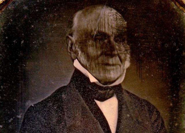 President Adams phtoograph