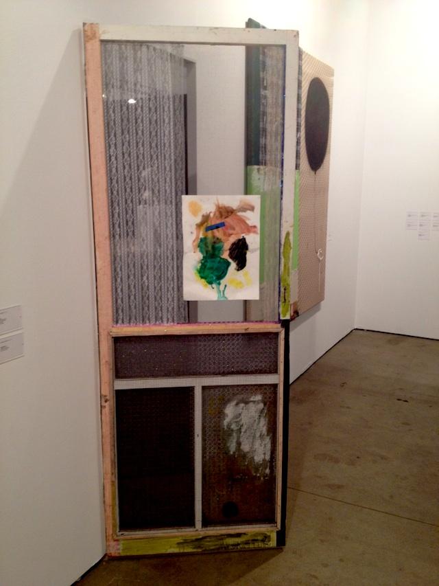 "Tameka Norris, ""Untitled, Door"" (2013), 81 x 29.75 x 1.875 inches @ Lombard Freid Gallery"