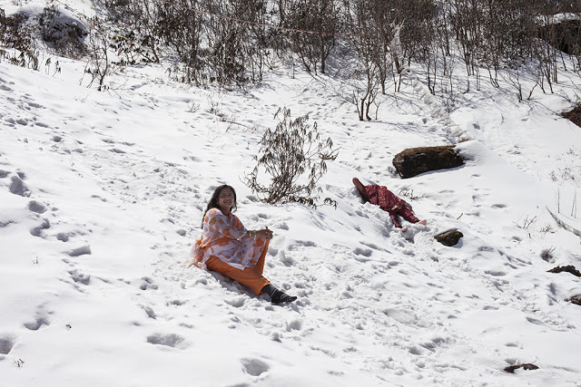"Christine Rogers, ""Snow Ladies (Sikkim),"" (2013)"
