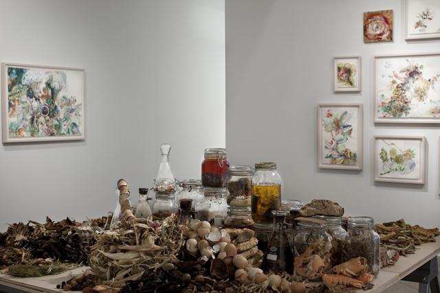 "Emilie Clark: ""Sweet Corruptions"" (courtesy Morgan Lehman Gallery)"