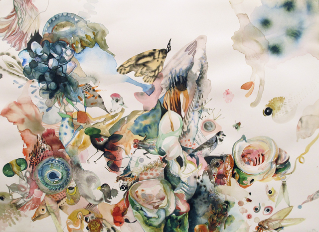 """Watercolor by Emilie Clark in """"Sweet Corruptions"""""""