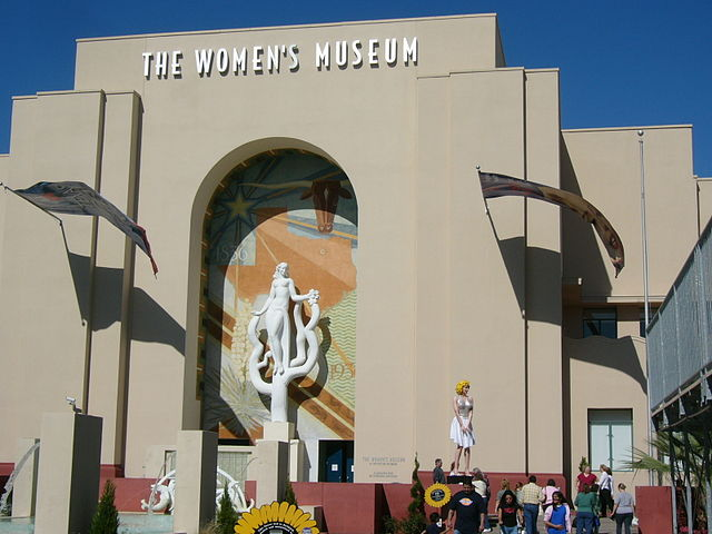 Women's Museum in Dallas (photograph by Stephen Witherden, via Wikimedia)