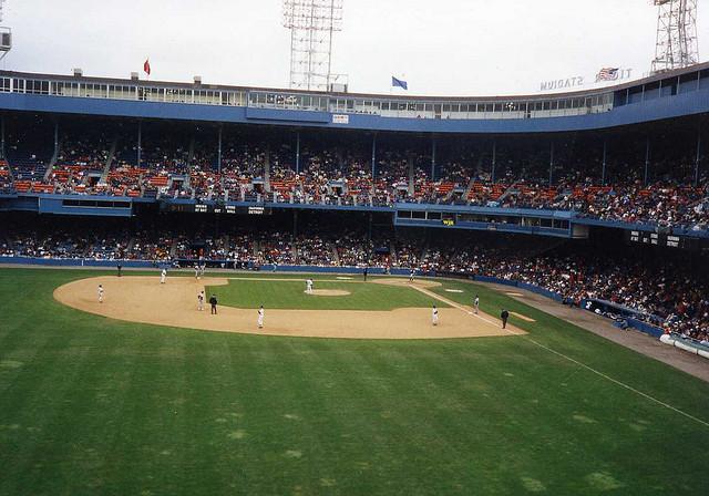 Detroit's Tigers stadium (image via Flickr user Cavalier92)