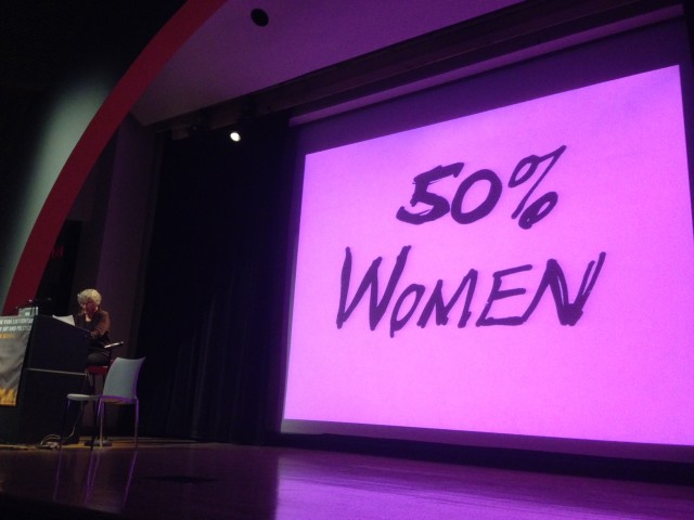 Lucy Lippard speaks about feminism