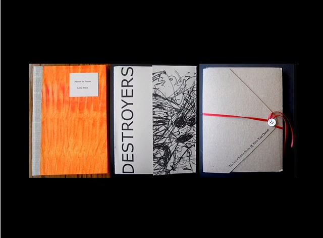 Meekling Press published DESTROYERS by John Wilmes (sold out)