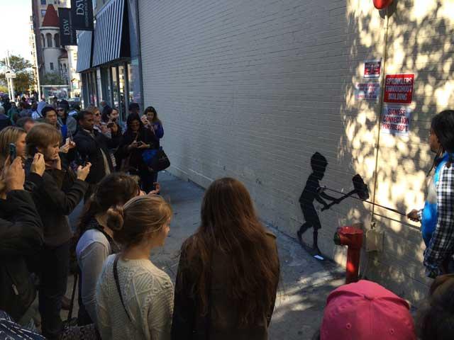 Sunday's Upper West Side Banksy