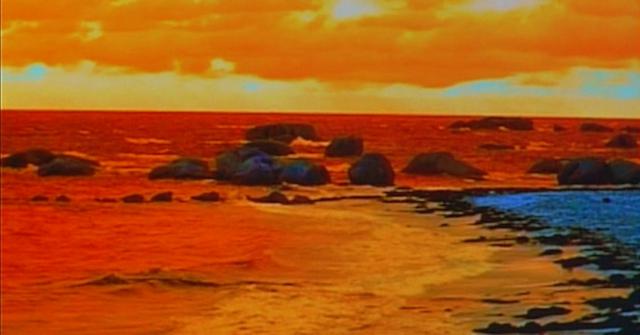 """Jean-Luc Godard, film still from """"Éloge de l'amou"""" (In Praise of Love) (2001)"""