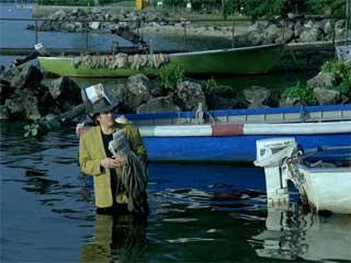 "Gérard Depardieu in Godard's ""Hélas pour moi"" (Oh, Woe Is Me) (1993) (click to enlarge)"