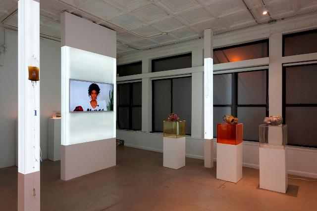 Installation view of QUALITY OF LIFE. Courtesy of 47 Canal.