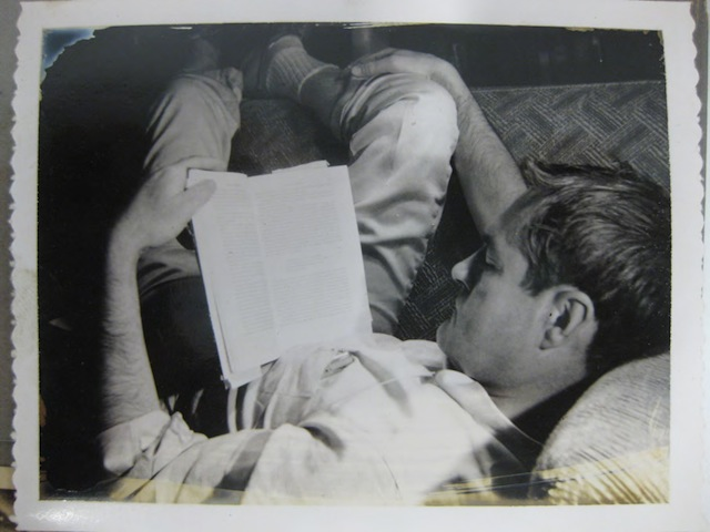 Photos Courtesy of The New York Public Library, Manuscripts & Archives Division: Timothy Leary Reading Circa 1961